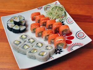 Какие суши полезны для диеты