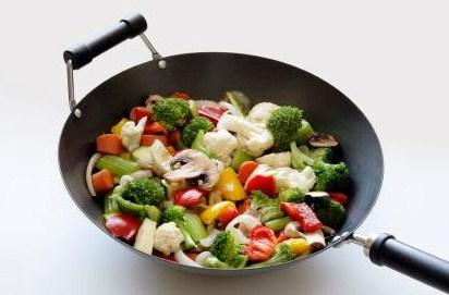 Как приготовить полезную пищу в сковороде вок