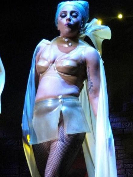 Леди Гага потолстела