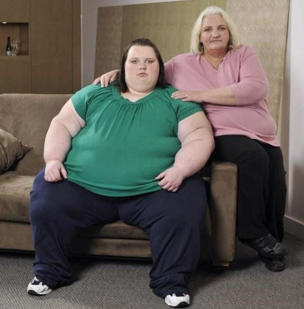 Девушка из Британии все еще надеется похудеть