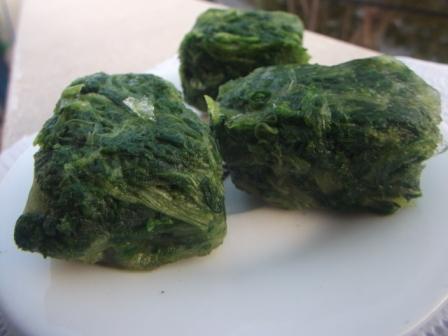 Замороженый шпинат