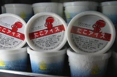мороженое с осьминогом