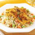 Салат из кускуса и тофу