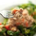Салат из тунца с овощами